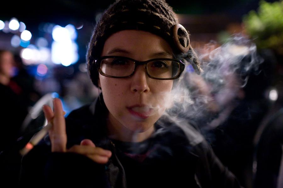 adriana doesn't smoke