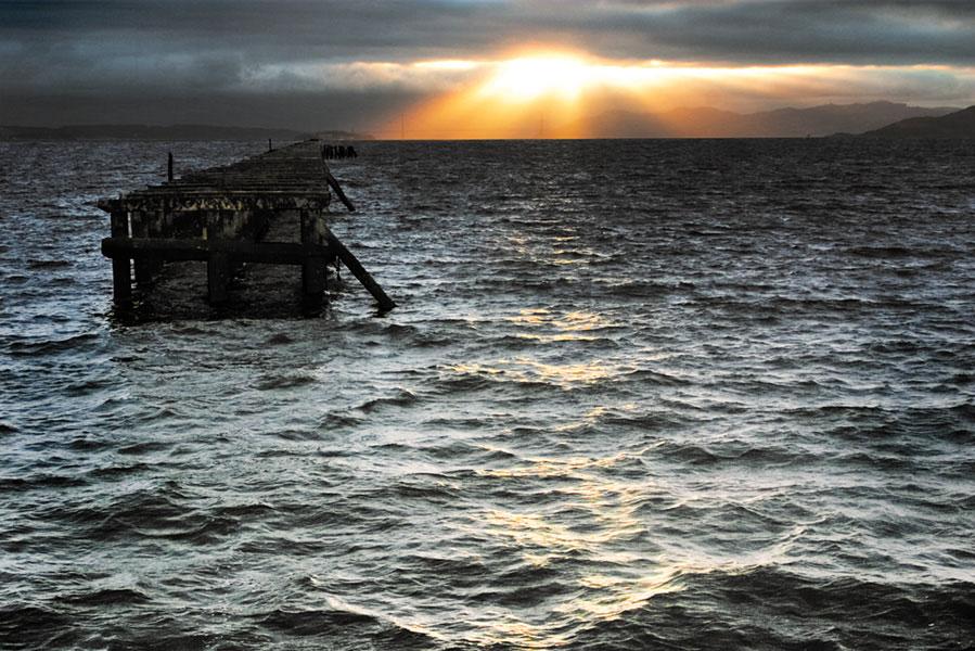severed pier