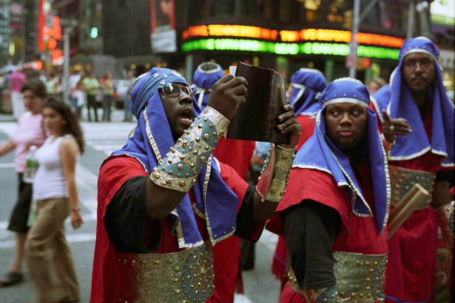 black israelites on broadway