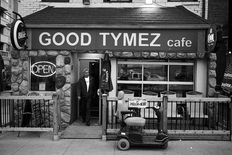 good tymez, no parking