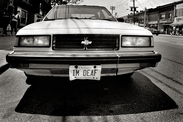 i'm deaf