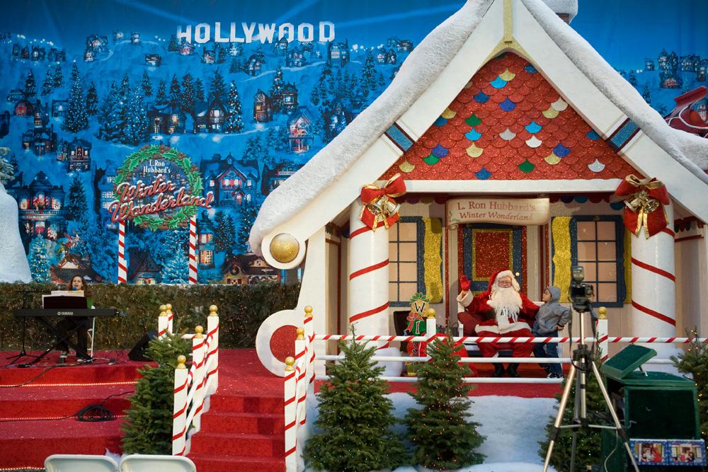 L Ron Hubbard Winter Wonderland!