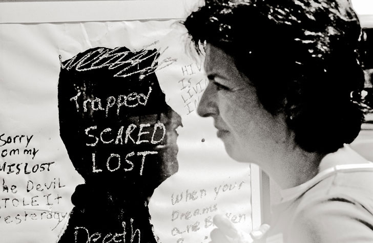 trapped scared lost