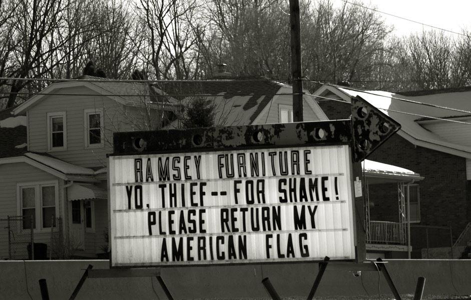 yo, thief --  for shame!